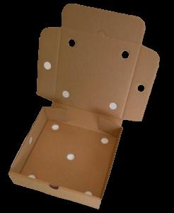 Pizza style box